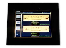 Simulated Instruments on Touch Screen.  Click to view larger image.